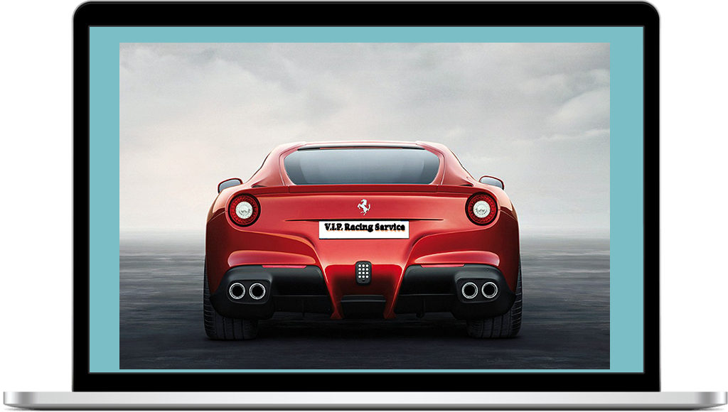Ferrari f12 Berlinetta vip racing service