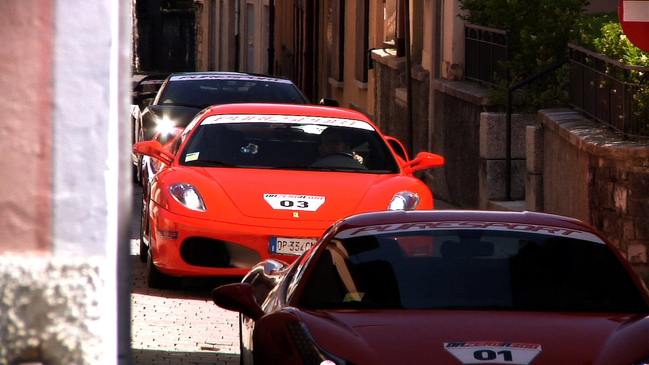 VIPracing Service Ferrari tour lake of como