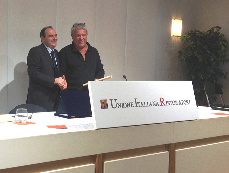 Igles Corelli has been appointed President UIR (Unione Italiana Ristoratori) towards to Expo 2015