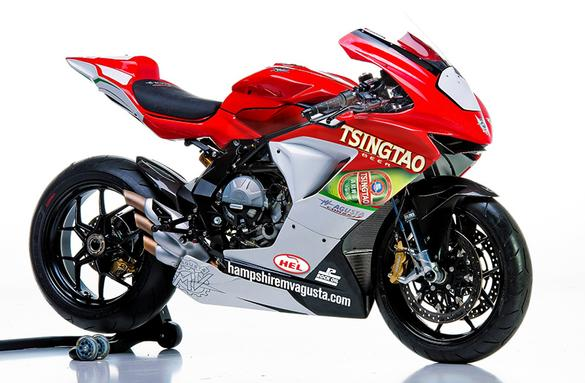 MV Agusta returns to British Superbikes in 2015 with Tsingtao Racing